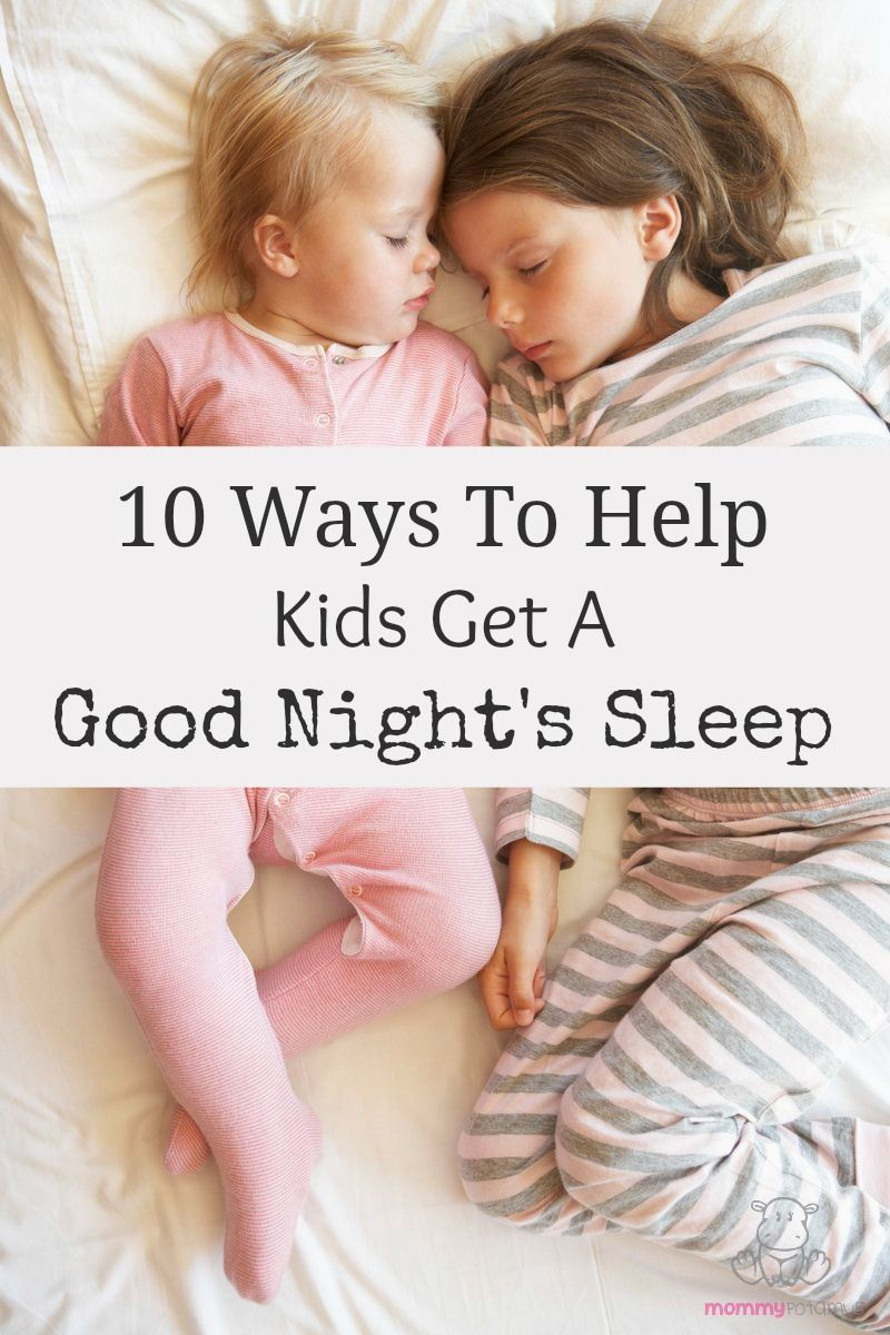 How to Help Children Sleep