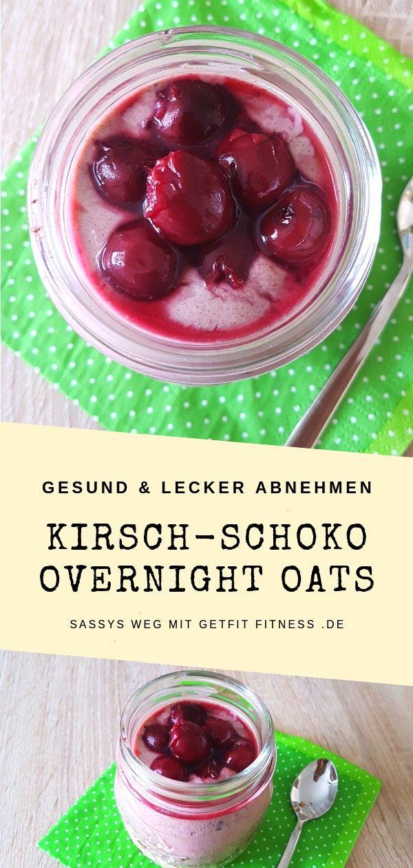 #kirschschoko #overnight #fitness #sassys #getfit #oats #weg #mitKirsch-Schoko Overnight Oats - Sass...