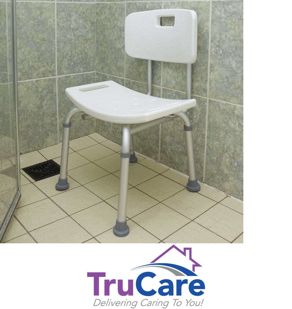 New Shower Chair With Back Medical Shower Chair Adjustable Bath Tub ...