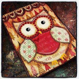 Make Art & Live Happy: Winter Owls & Snowmen Workshop