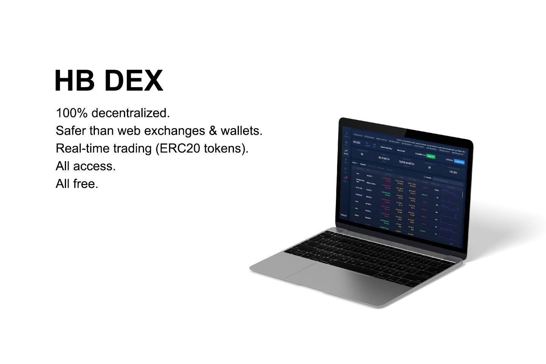 Decentralized ethereum token exchange