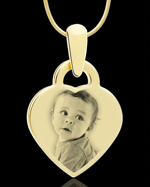 Photo engraved small heart pendant i want one with all my kids photo engraved small heart pendant i want one with all my kids in aloadofball Image collections