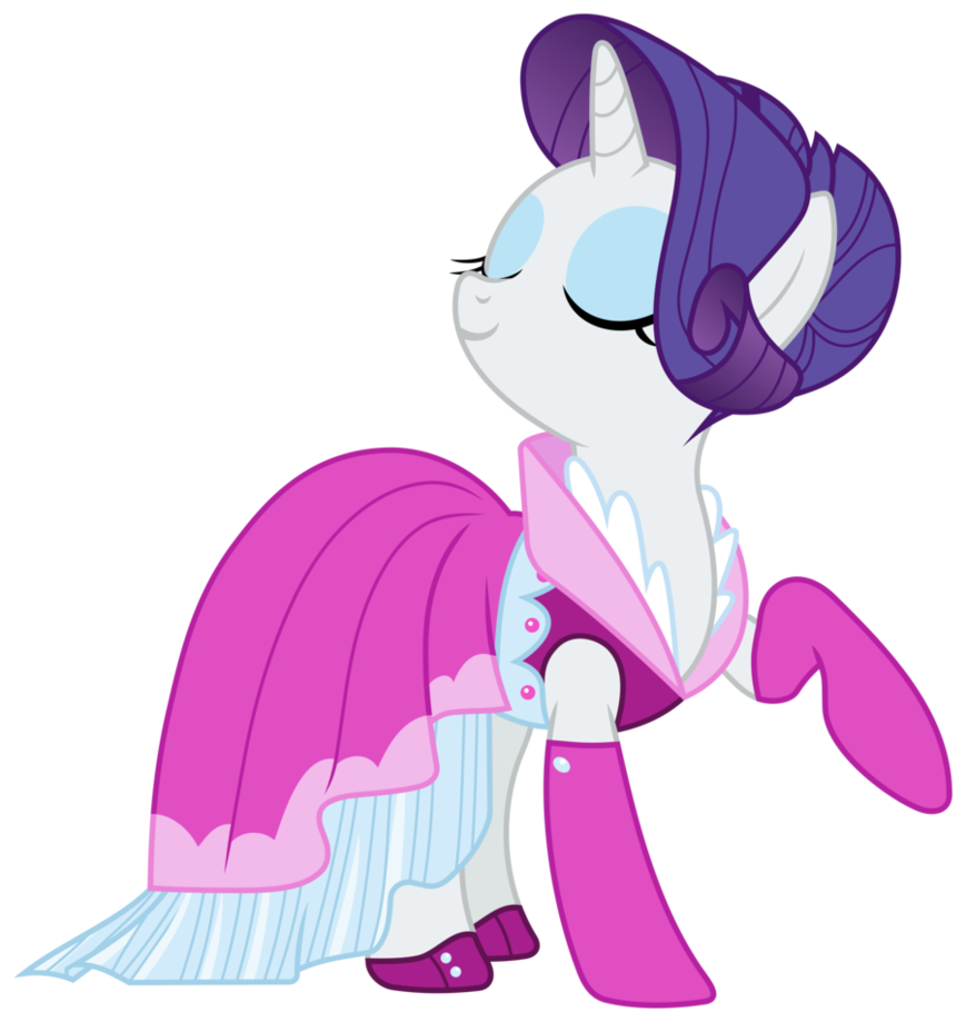 MLP Wearing Dresses | MLP: Fabulous Rarity is fabulous by ...