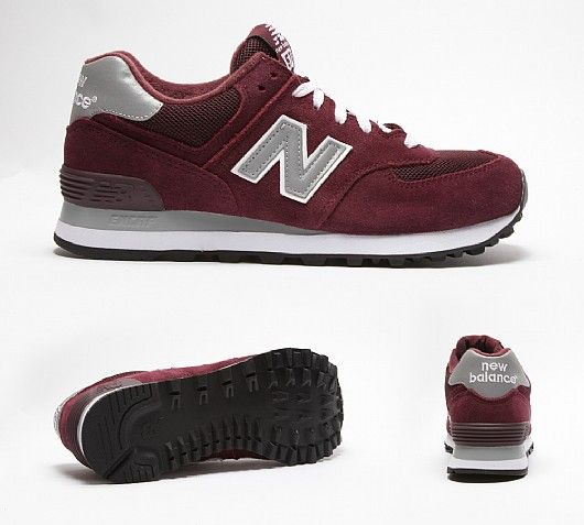 new balances burgundy /grey. Latest TrainersNew Balance ...