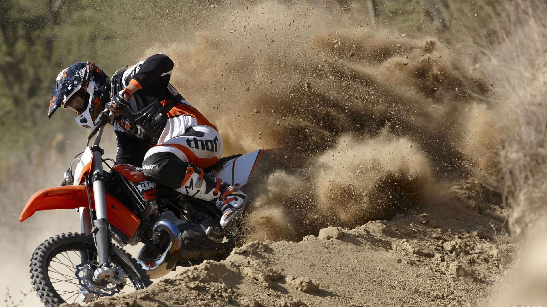 Motocross Ktm Bike Hd Wallpapers Ktm Motocross Cool Dirt Bikes