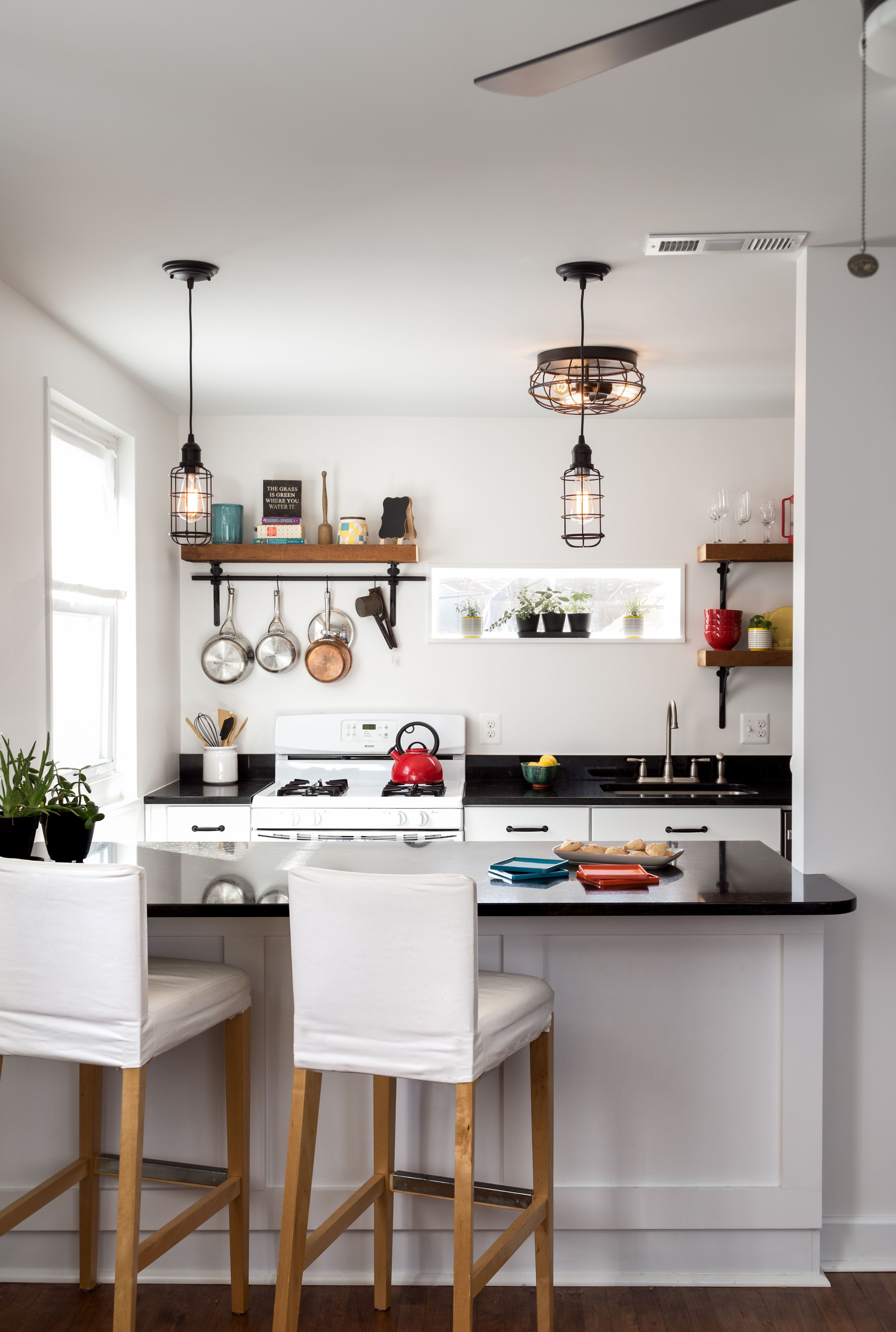 Small kitchen, tight budget, huge impact. With just 80 SF to work ...