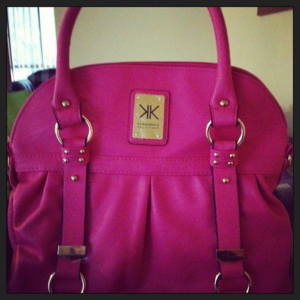 pink bag by kardashian kollection | Fashin | Pinterest | Pink bags ...