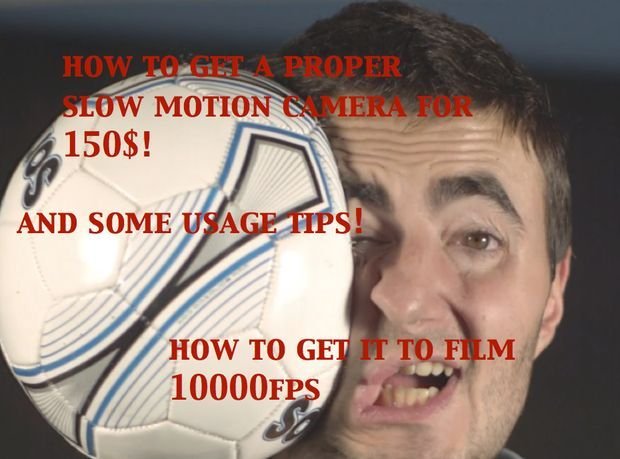 Picture of Get a Epic 1000fps SLOW MOTION Camera FOR $150! and Usage Tips!