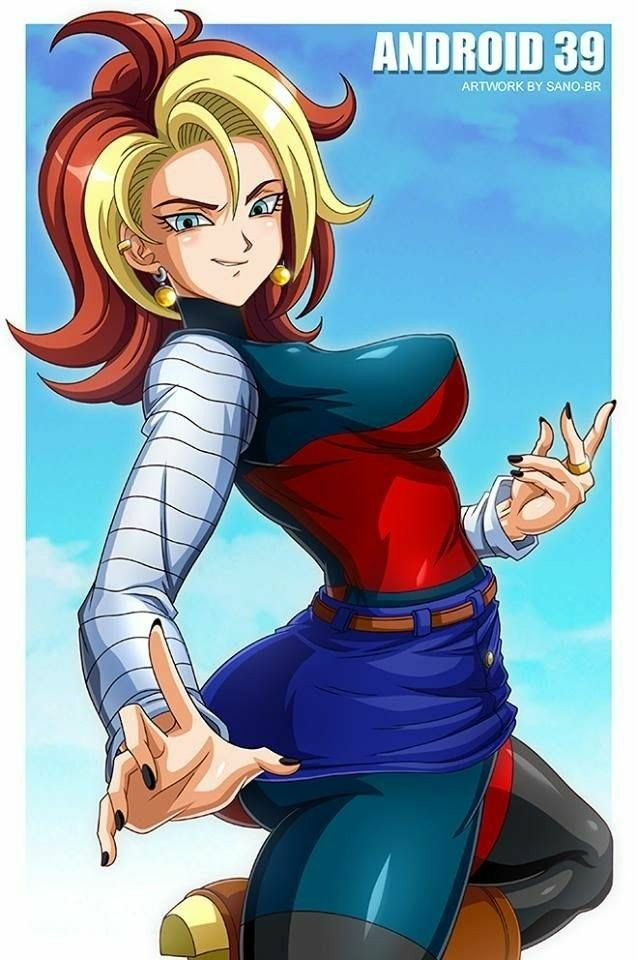 Dragon ball z fan art android 39 manga anime dragon ball android 18 dragon - Dragon ball zc 18 ...