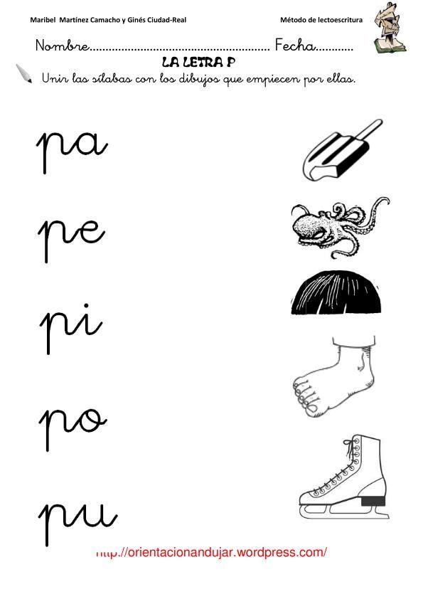letra-p-7 | Preescolar | Pinterest | Búsqueda