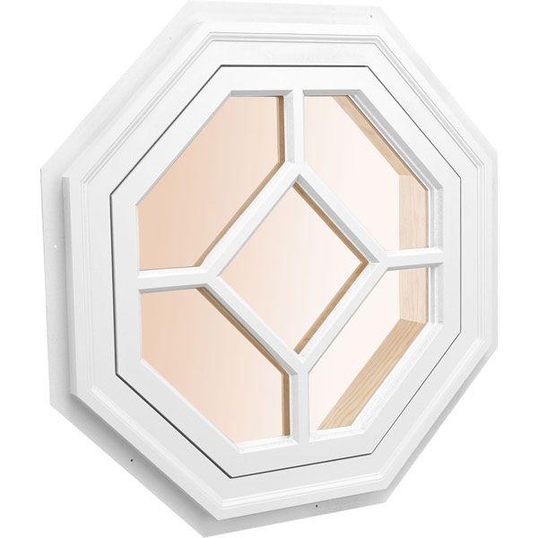 Custom Size Octagonal Decorative Window Architectural Collection Windows Exterior Octagon Window Octagon