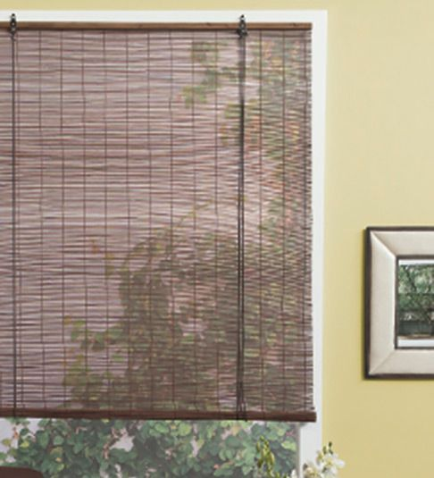 Cortinas enrollables de bamb cortinas pinterest - Persianas de bambu ...