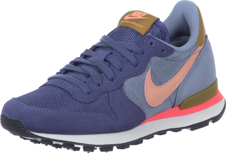 58dad1aef2b783 ✓ Nike Internationalist W Schuhe grau blau