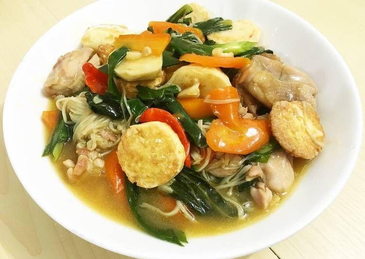 Resep Sapo Tahu Ayam 99 Oleh Anak Kost Resep Resep Memasak Resep Makanan
