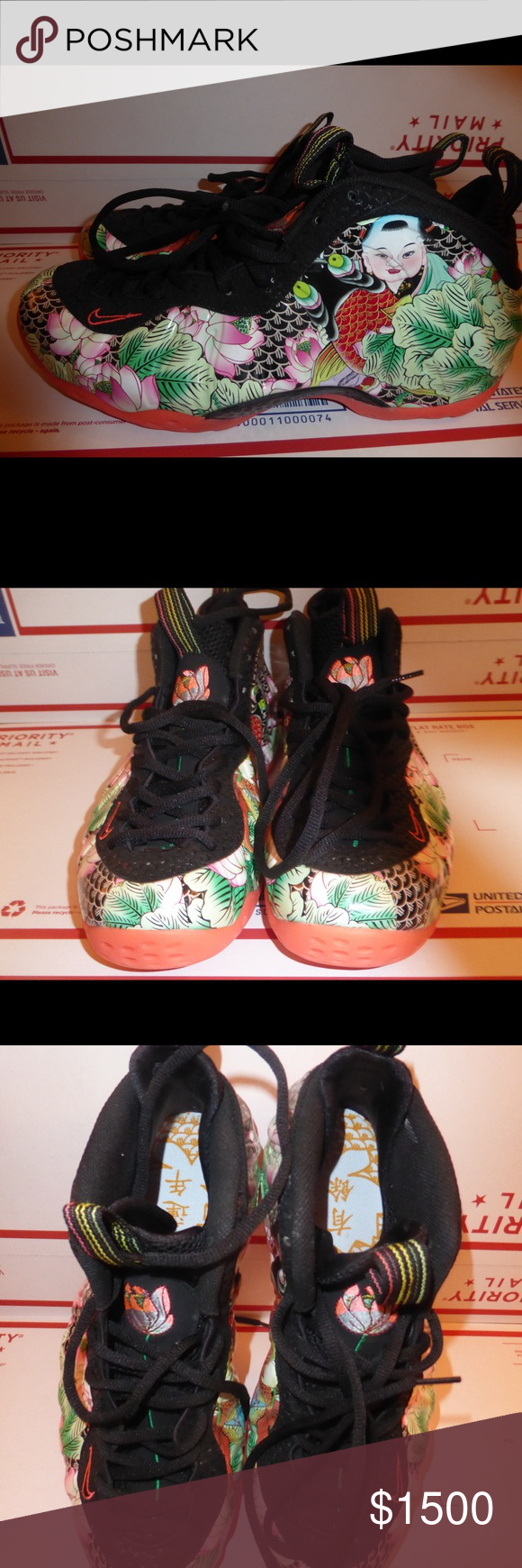 Nike Womens Air Foamposite One Floral ShoesSize 6.5W ...