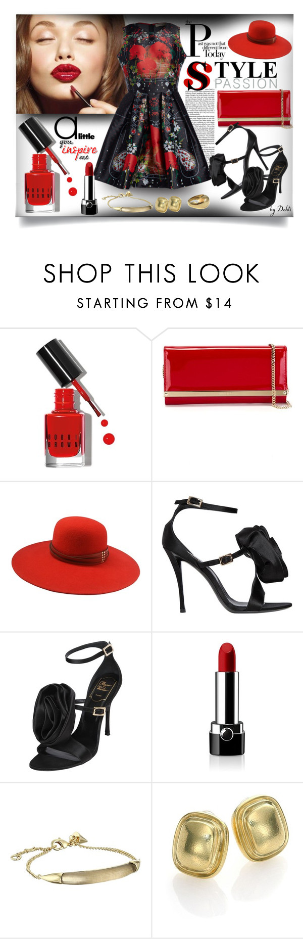 """ Sem Título "" by dehti ❤ liked on Polyvore featuring Trilogy, Mary Kay, Bobbi Brown Cosmetics, Jimmy Choo, The Season Hats, Roger Vivier, Marc Jacobs, Alexis Bittar and Vaubel"