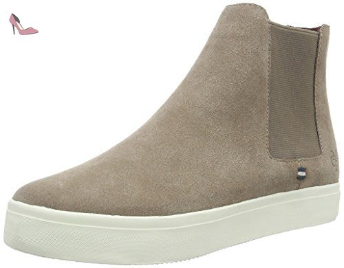 Bootie - Bottines Femme - Gris (Grey 920) - 38 EUMarc O'Polo haVV7957Wc