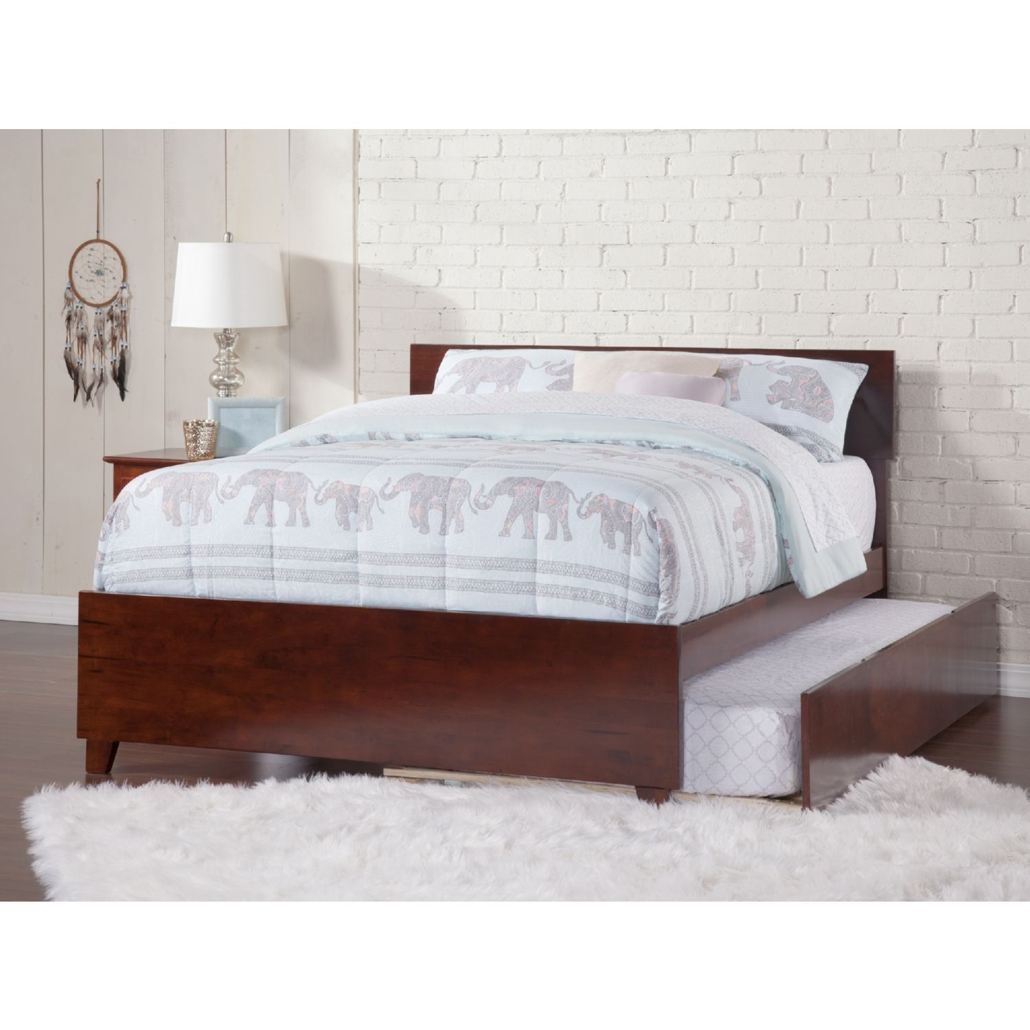 Atlantic Furniture Ar8136014 Orlando Full Bed Matching Footboard
