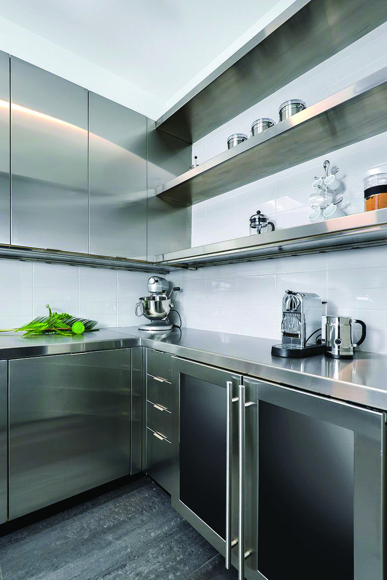 Stunning Ideas For A Art Deco Metal Kitchen Cabinets Only In Miraliva Com Kitchen Cabinets Metal Kitchen Cabinets Modern Metal Kitchen