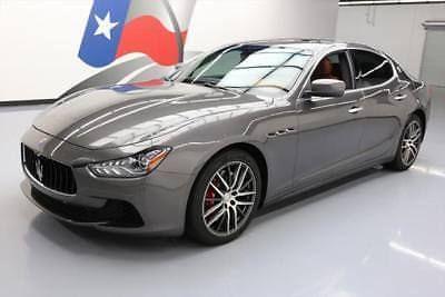 2015 Maserati Ghibli Base Sedan 4 Door 2015 Maserati Ghibli Turbo Sunroof Nav Htd Leather 26k 144320 Texas Direct Auto Maserati Ghibli Maserati Lexus Is250