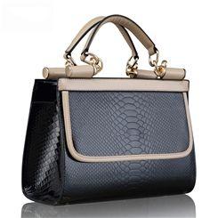 European Serpentine Fashion Lady Handbags