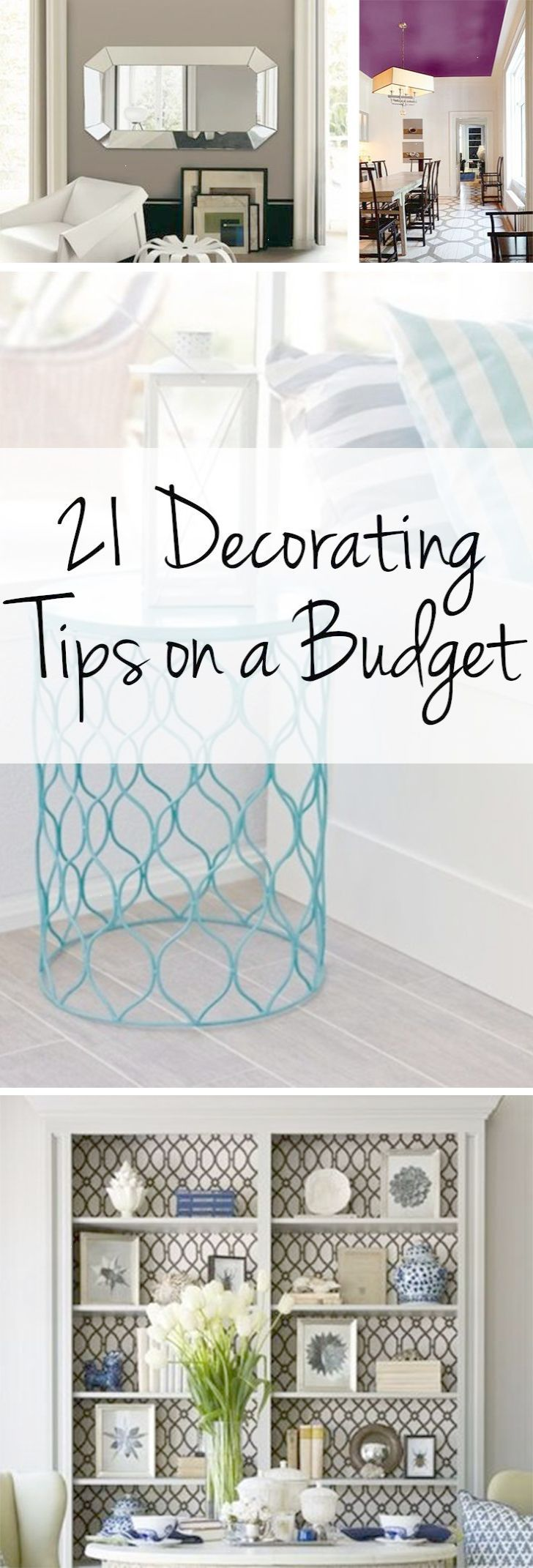 Decorating tips budget decorating frugal home interior design ...
