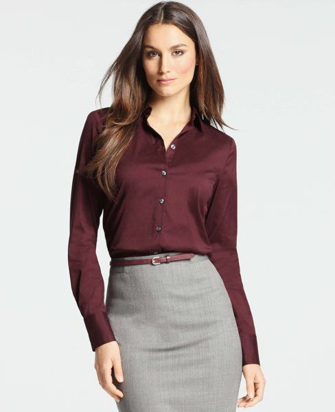 Cotton Perfect Button Down Shirt Office Attire Shirts Outfits