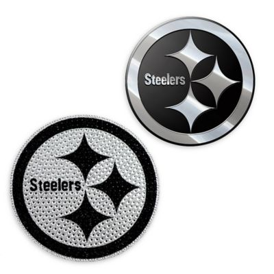 buy popular fce16 34226 NFL Pittsburgh Steelers His & Hers 2-Piece Team Vehicle ...