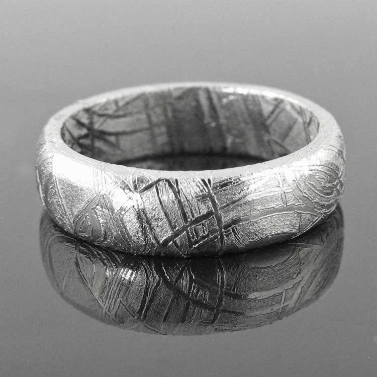 Fresh A Four Billion Year Old Meteorite Wedding Ring Iron Meteorite Jewelry Meteorite Jewelry