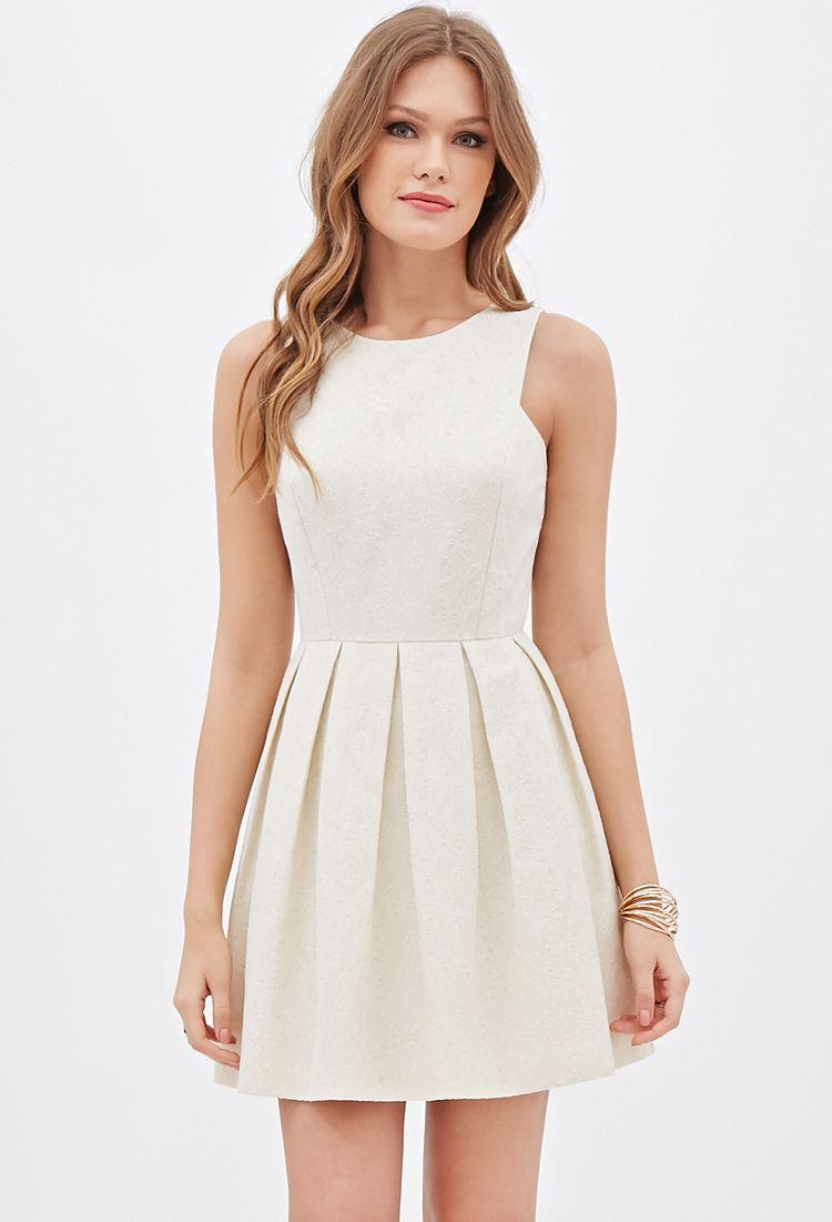Damask pattern aline dress forever clothes