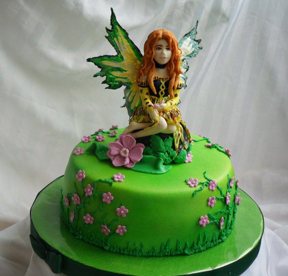 Fairy cake Fairy/Fairy Tale Cakes Pinterest Fairy ...