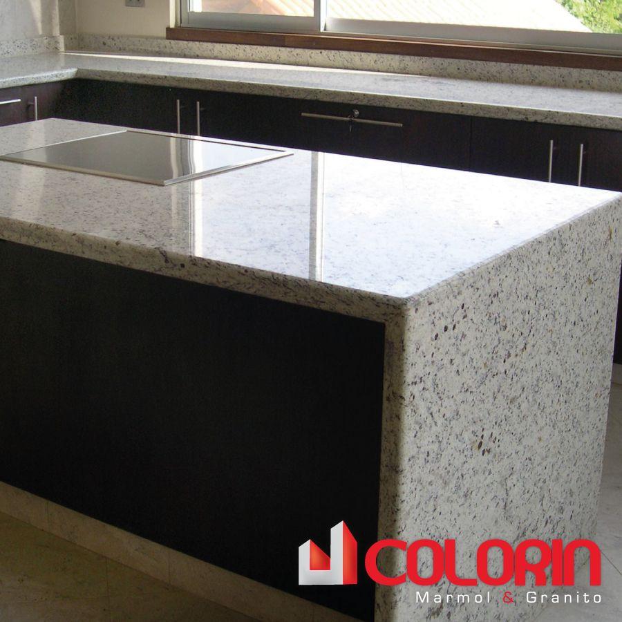 Mesones de cocina granito blanco chiquitano mesones de - Colores de granito para encimeras de cocina ...