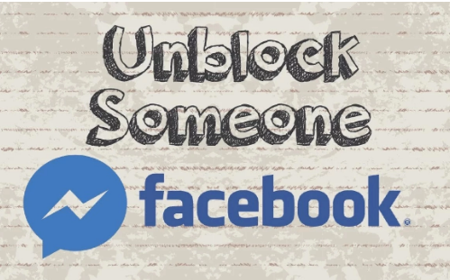 How do you unblock someone on facebook messenger