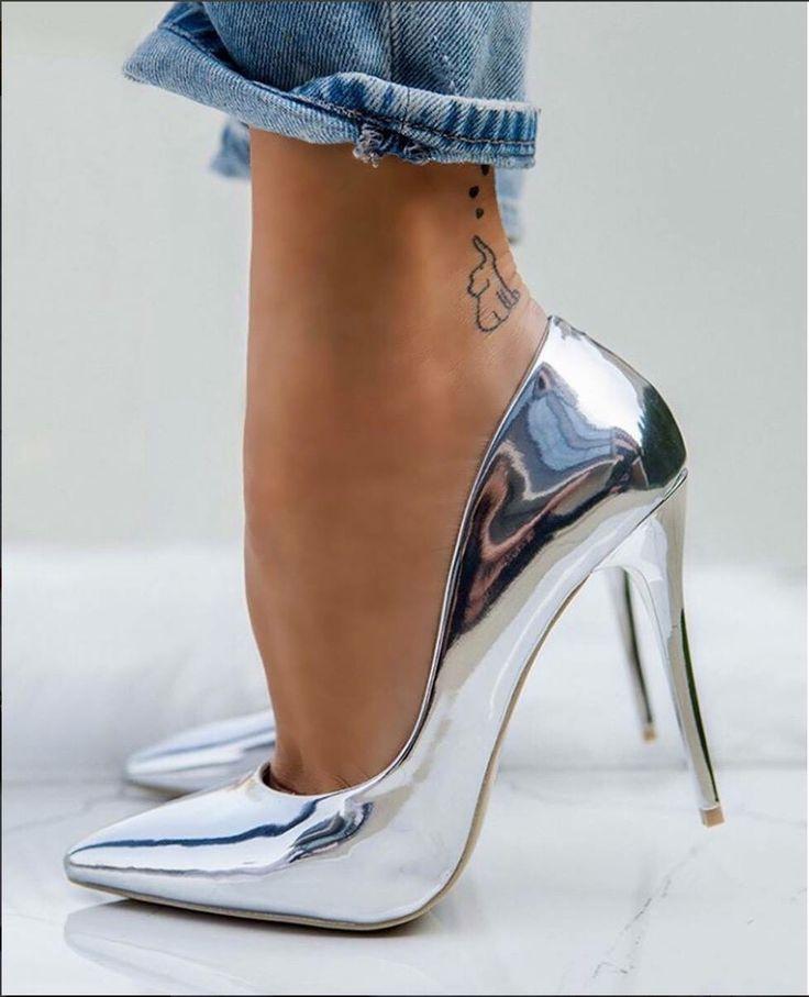 Decolte Metal Decolte Metal Scarpe Con Tacchi A Spillo Scarpe Scarpe Col Tacco