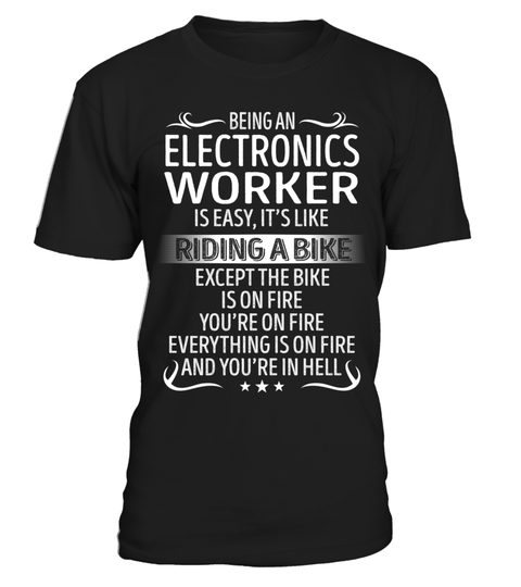 """# Being an Electronics Worker is Easy .  Special Offer, not available anywhere else!      Available in a variety of styles and colors      Buy yours now before it is too late!      Secured payment via Visa / Mastercard / Amex / PayPal / iDeal      How to place an order            Choose the model from the drop-down menu      Click on """"Buy it now""""      Choose the size and the quantity      Add your delivery address and bank details      And that's it!"""