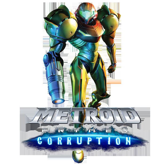 Metroid Prime 3 Corruption Game Logo Francsilver Metroid Metroid Prime Metroid Prime 3 Corruption