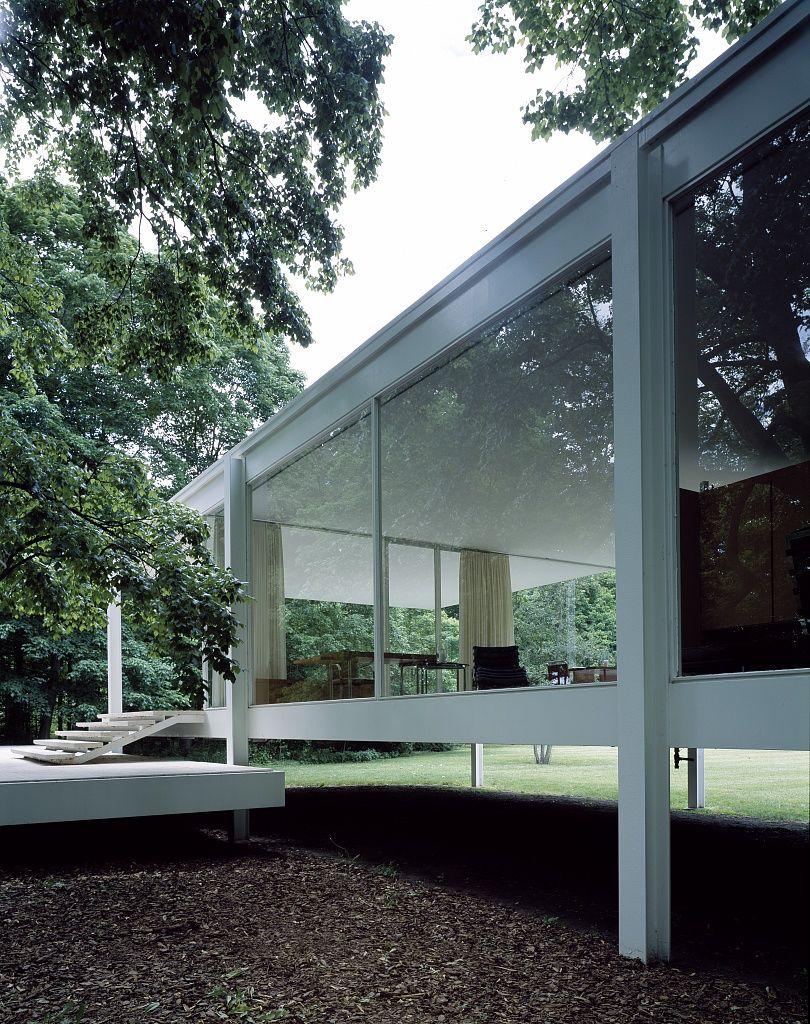 Villa tugendhat arkitalker mies van der rohe - Us Plano Il Farnsworth House Architect Mies Van Der Rohe