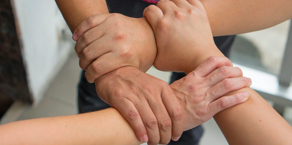 New Hands Meme Uses Different Stock Photos To Show The Beauty Of Cooperation Memes Hands Meme Template