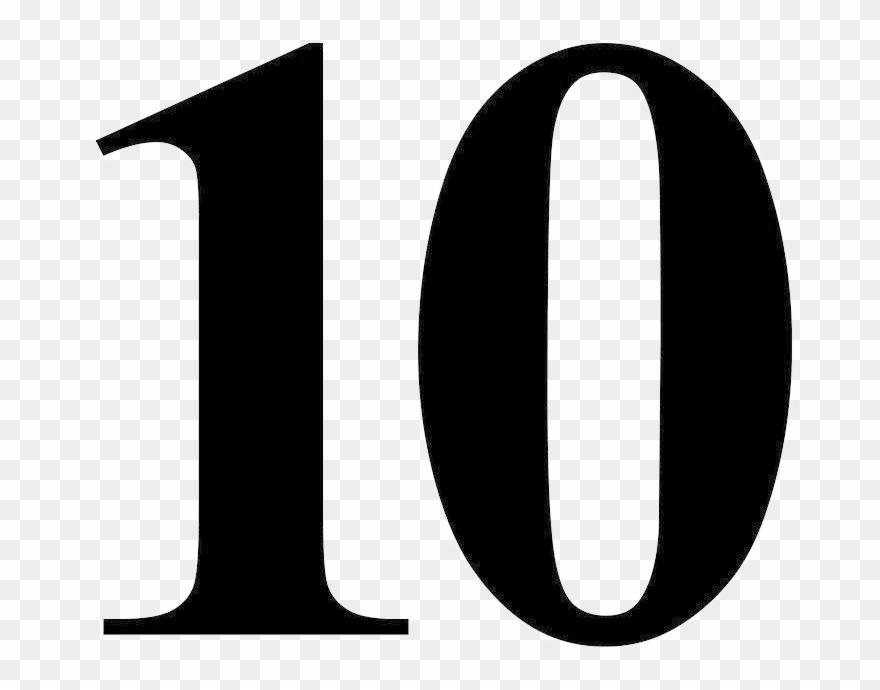 10 رقم صورة مجانية Png تايمز الرومانية الجديدة رقم 10 قصاصات فنية Clip Art Free Png Free Clip Art