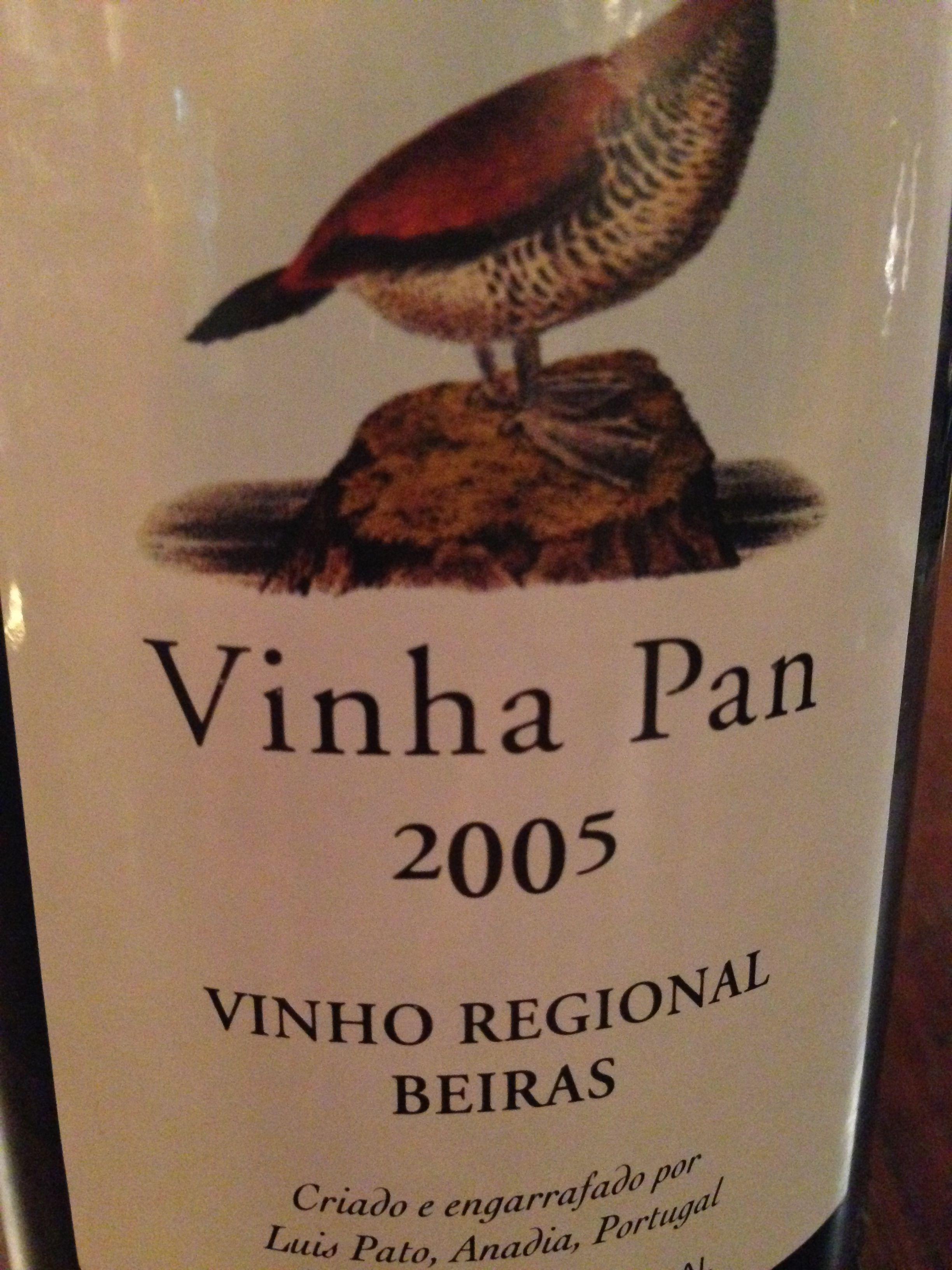 Vinha Pan, 2005, Luis Pato Kräftige Tannine, körperreich, Kirsche und Johannisbeere #wein #weinerleben