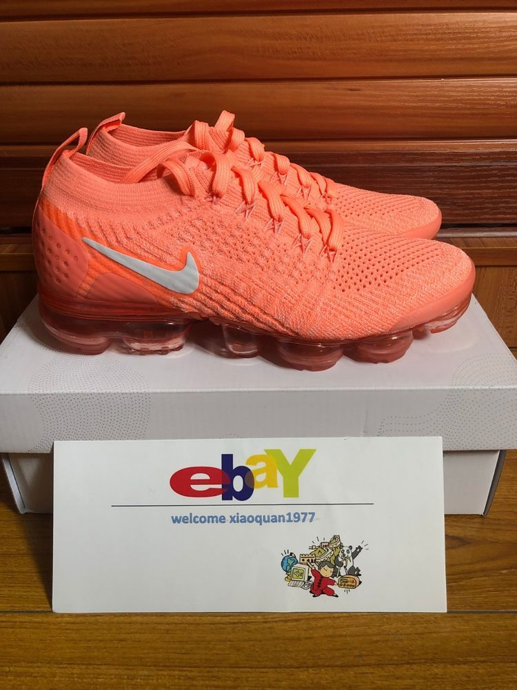 reputable site c949f f0d36 Nike Air VaporMax Flyknit 2 Crimson Pulse-Sail Running Shoe ...
