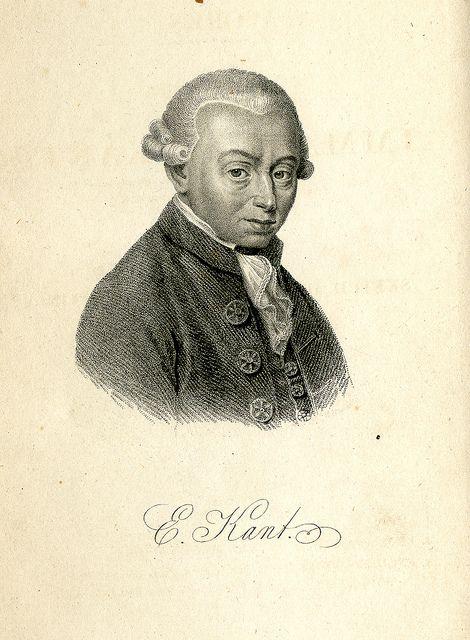 Immanuel Kant (ɪˈmaːnu̯eːl ˈkant) (Königsberg, Prusia, 22 de abril de 1724 – Königsberg, 12 de febrero de 1804) fue un filósofo prusiano de la Ilustración.