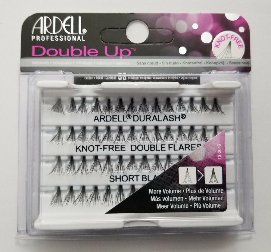 9742b9228b1 (LOT OF 10) Ardell Duralash Knot-Free DOUBLE UP SHORT Individual Eyelashes #Duralash#Knot#Ardell