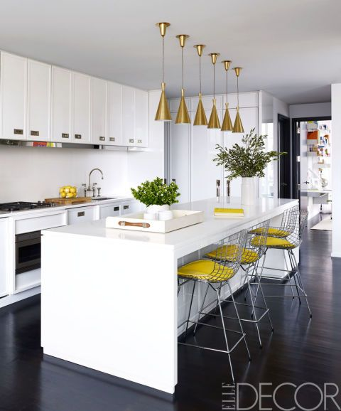 house tour: a new york penthouse shows the cozy side of modern ... - Kchenfronten Modern