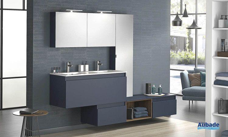 Grand Meuble Salle De Bain D Motion De Delpha In 2020 Lighted Bathroom Mirror Bathroom Room Divider