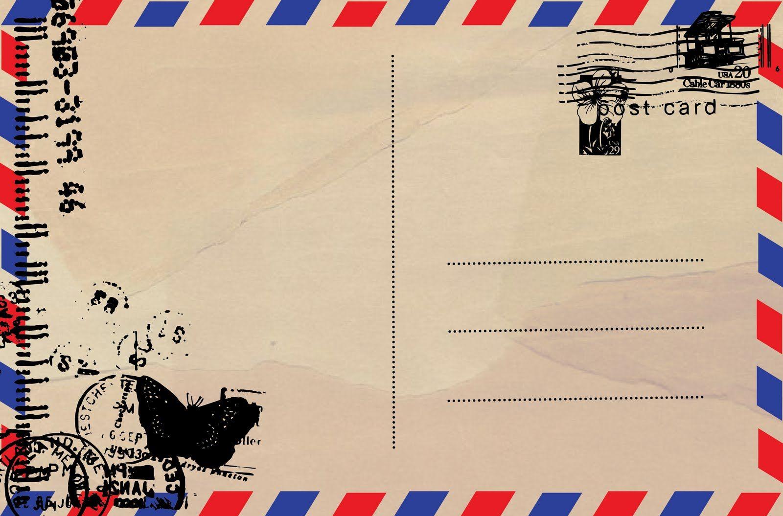Открытки своими, создание почтовой открытки в фотошопе