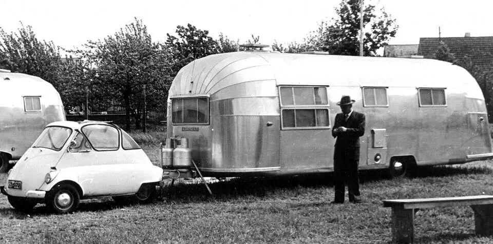 Pin by Jen Ehrhardt on Airstream Vintage campers