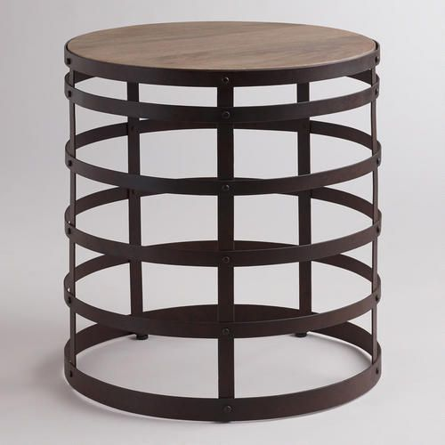 One Of My Favorite Discoveries At WorldMarket.com: Worley End Table
