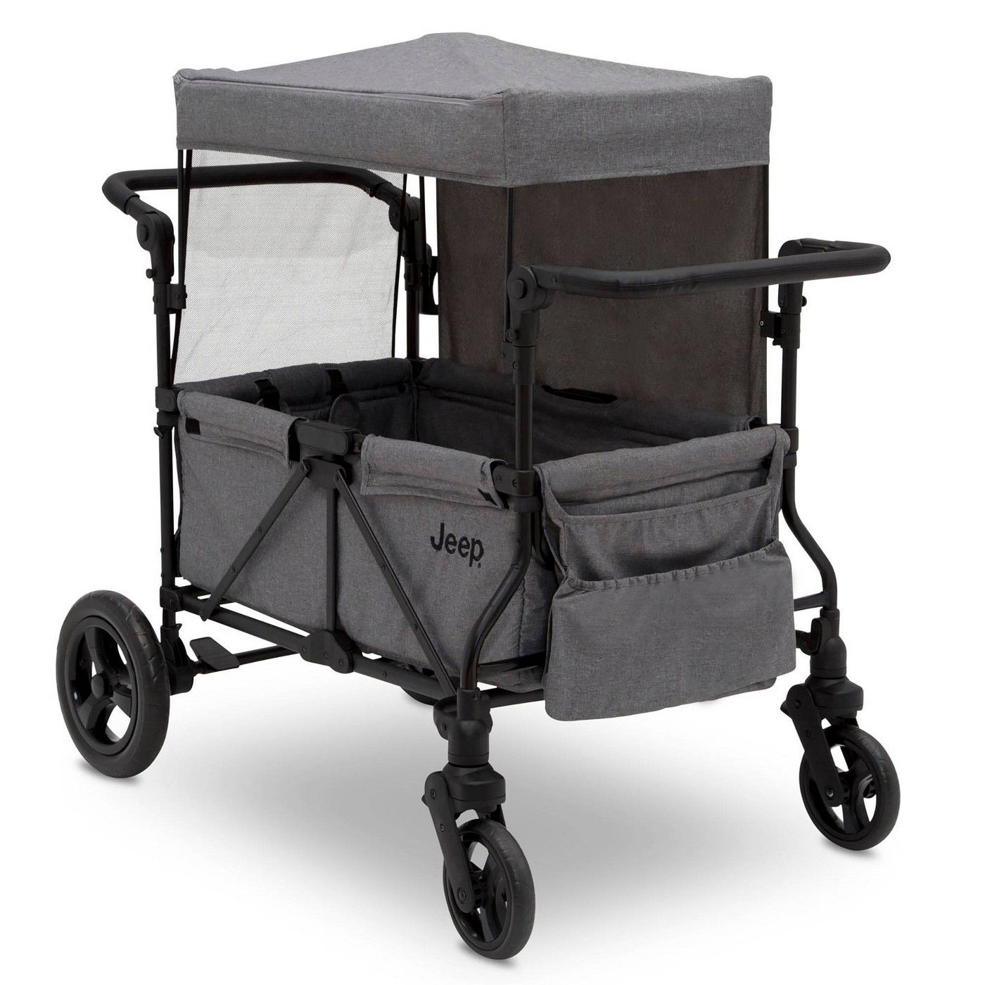 Jeep Wrangler Stroller Wagon with Included Car Seat