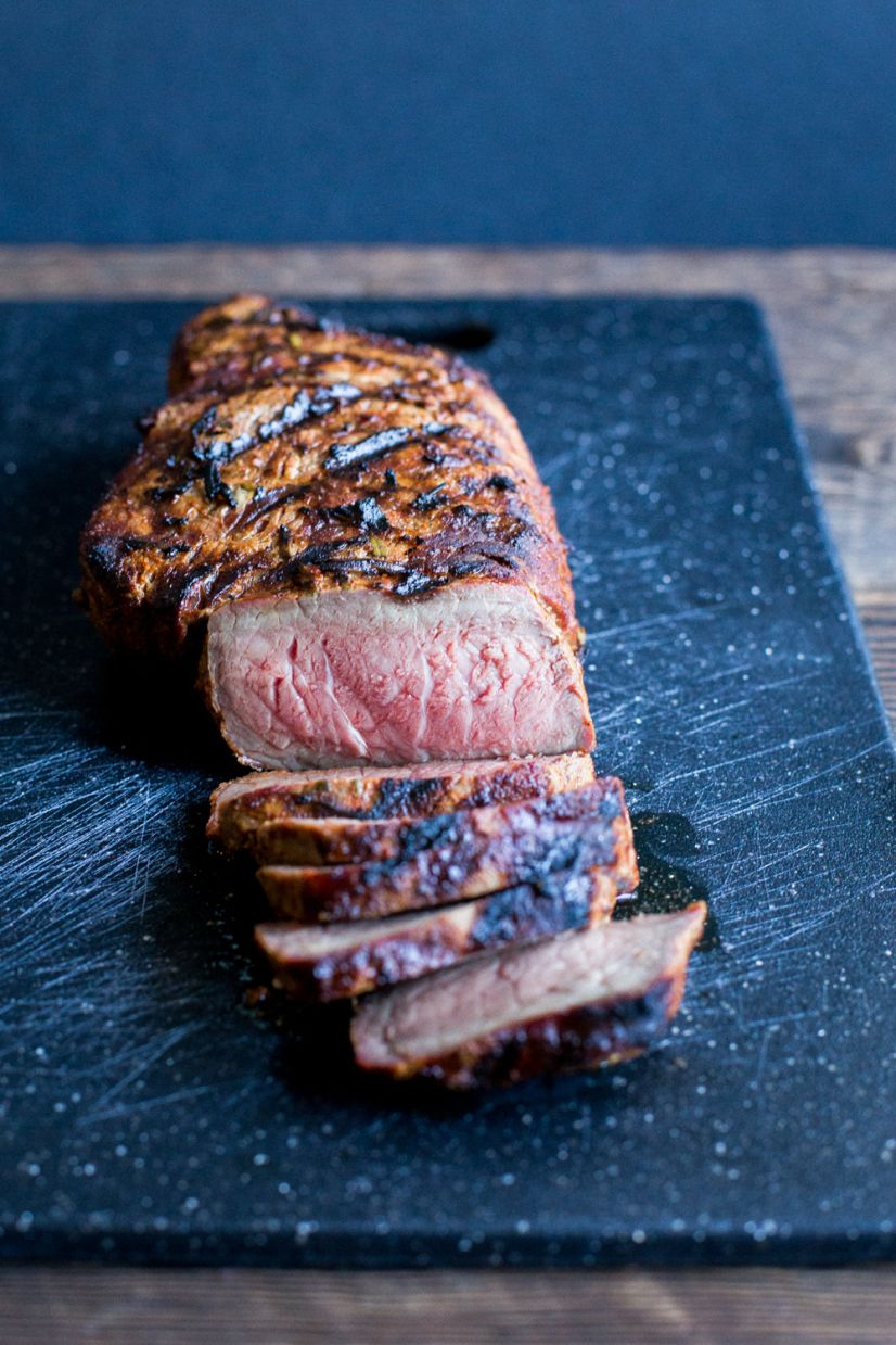 Note: after talking to the farmer that provided the meat for this recipe, I realized that this cut was actually top round and not flank. I apologize for the mix up, and I've updated the post accord...